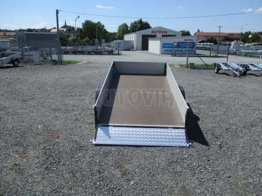 Sklopný přívěsný vozík za osobní auto ZV 31 ALU N1 skl 3,00x1,55/0,35 POČ ZN** č.50