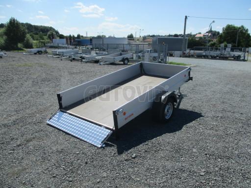 Sklopný přívěsný vozík za osobní auto ZV 31 ALU N1 skl 3,00x1,55/0,35 POČ ZN** č.51