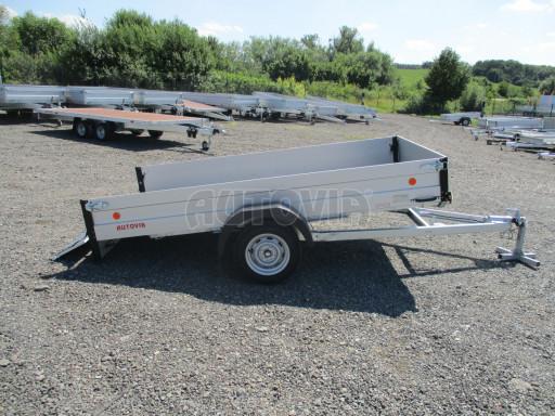 Sklopný přívěsný vozík za osobní auto ZV 31 ALU N1 skl 3,00x1,55/0,35 POČ ZN** č.52